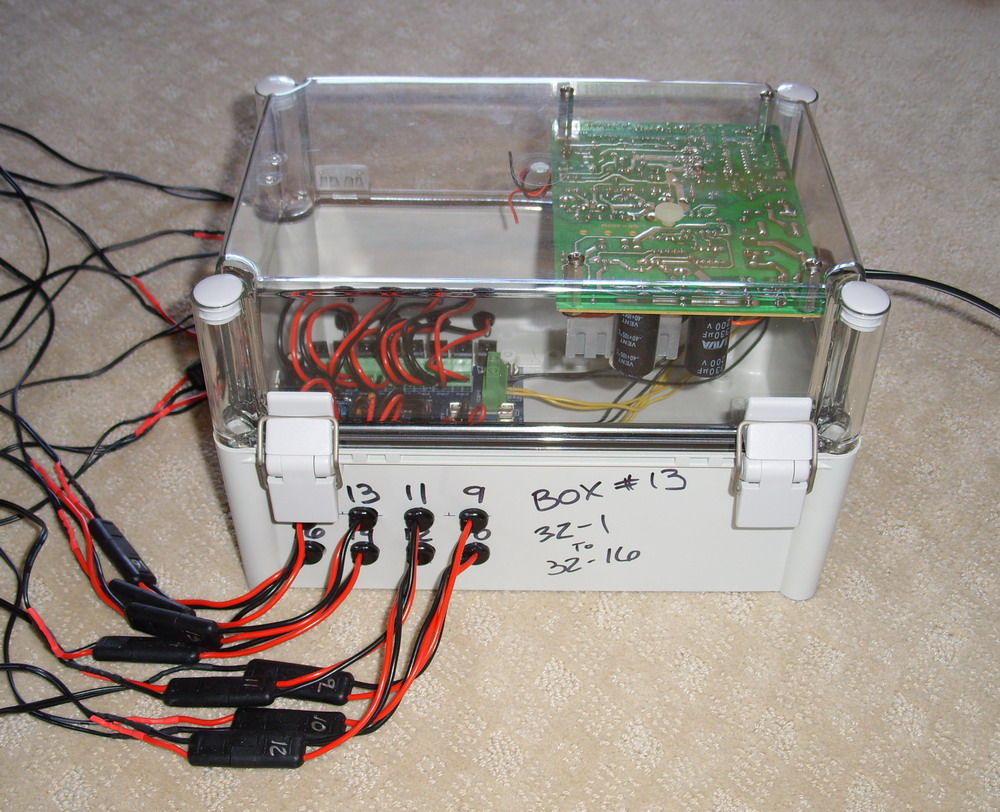 DC Box with D-Light DCx16 and old PC power Supply