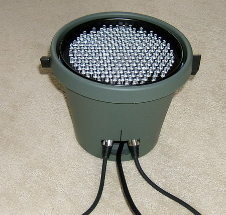 Chauvet 200B in flower pot